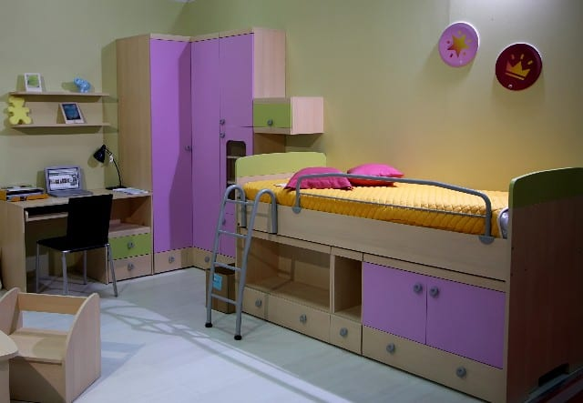 Kids Bedroom Decorating Idea