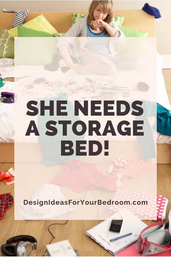 A Storage Bed is Needed